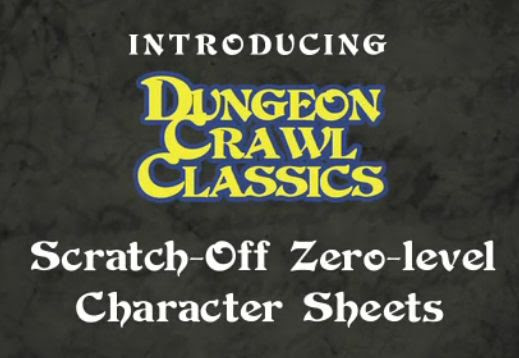News: DCC Scratch-off Character Sheet Kickstarter in its Final Hours