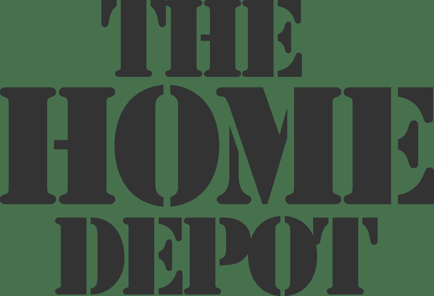 Home Depot Transparent Logo | Getpaidforphotos.com