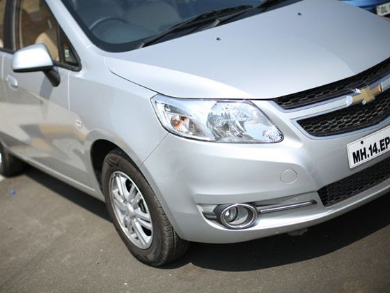 Chevrolet Sail facelift review front