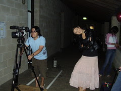 Brian the Cinematographer and Lead Actress Sarah