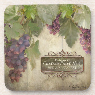 Fall Personalized Rustic sign  Sign wine Coaster Wine Winery rustic Beverage Vineyard