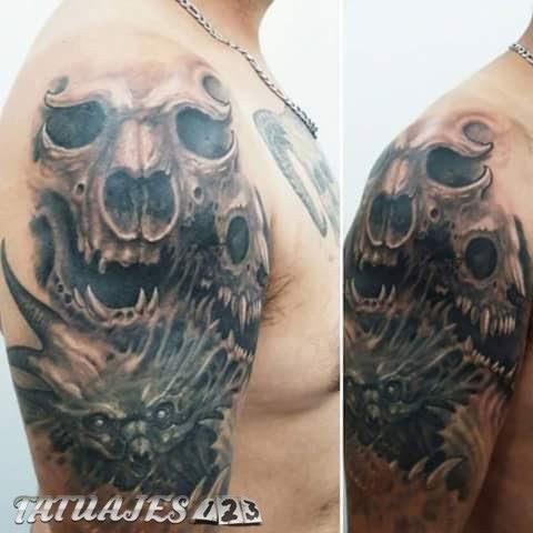 Craneos Tattoo Tatuajes 123