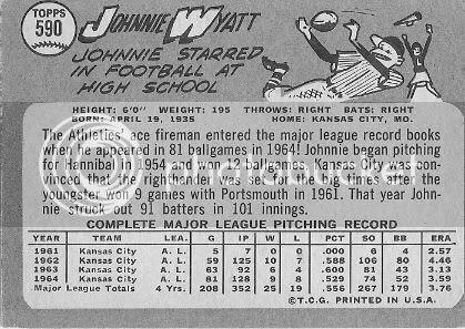 #590 Johnnie Wyatt (back)