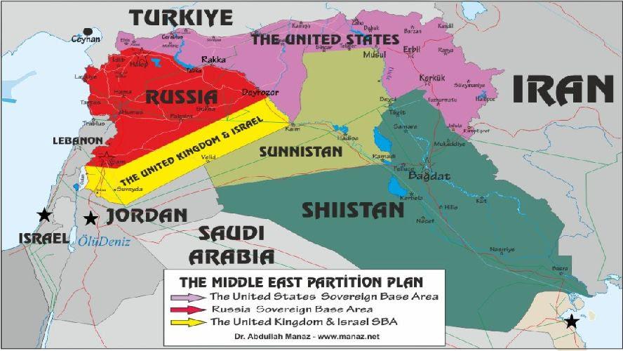 Risultati immagini per plan for syrian partition