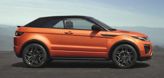Range Rover Evoque Convertible Unveiled