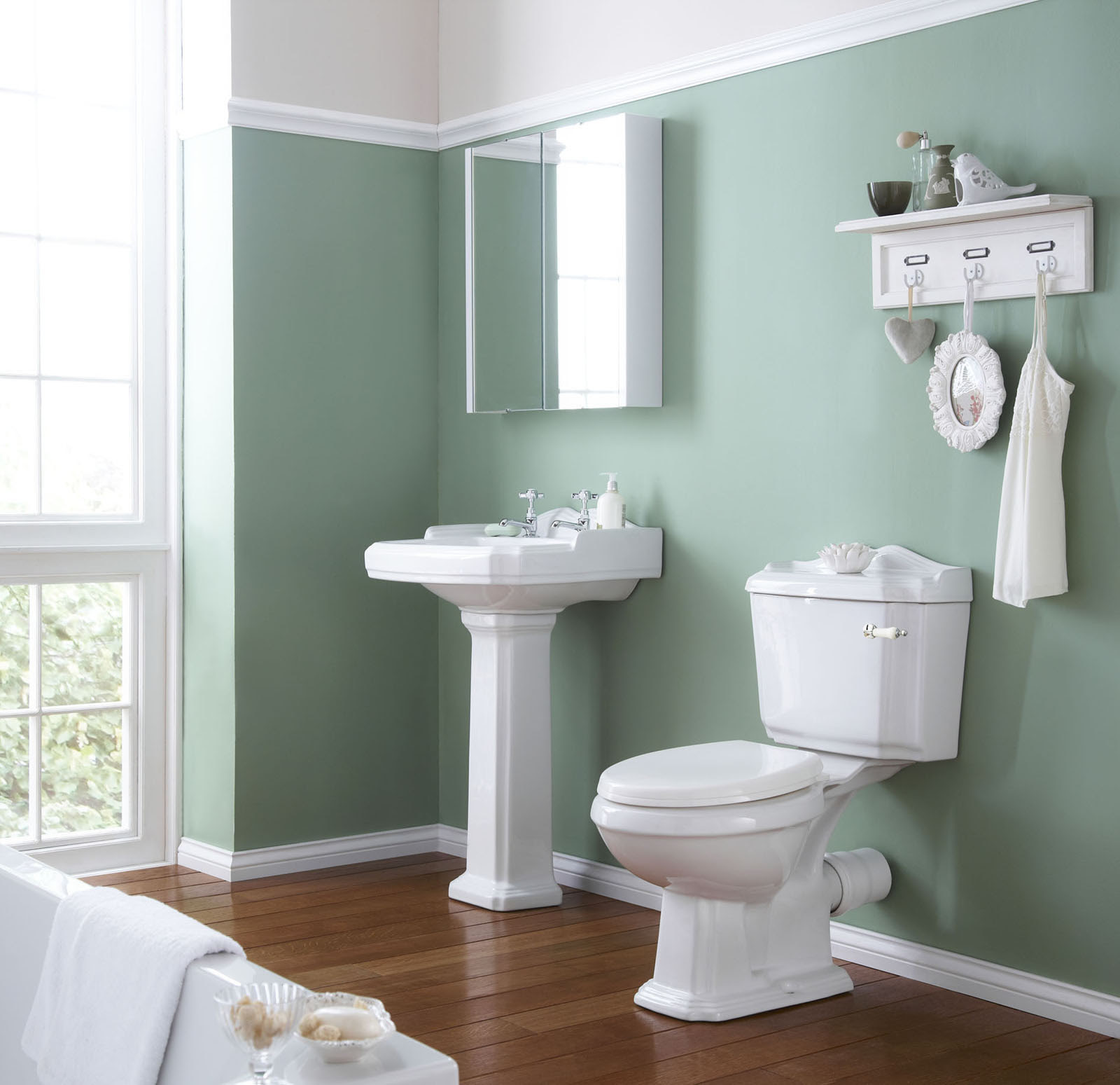 60 Bathroom Paint Color Ideas that Makes you Feel ...
