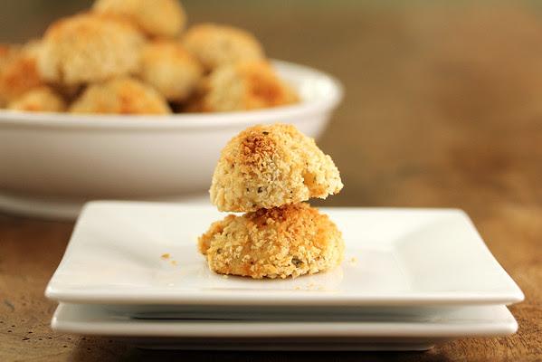 Mozarella and Potato Cakes