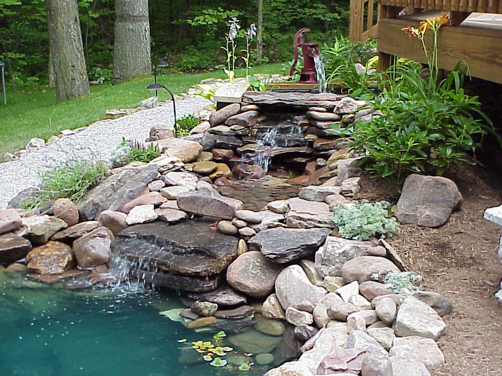 Water Features for Garden Pond Ideas