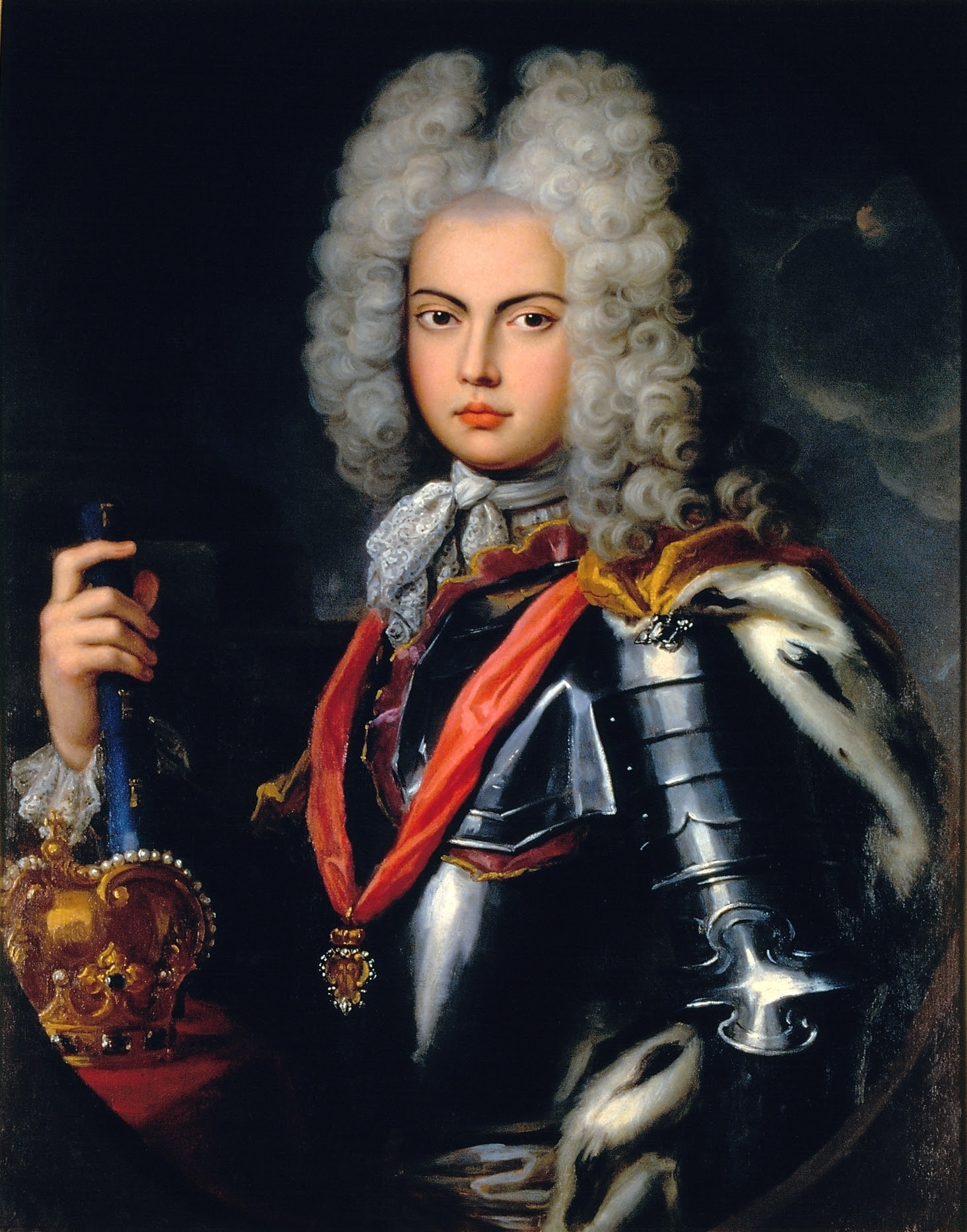 Portrait of John V of Portugal by Pompeo Batoni