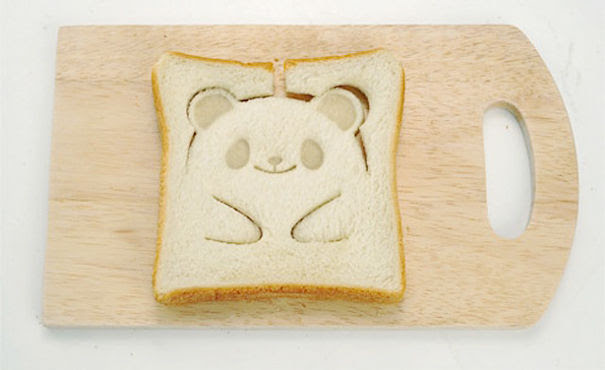 Panda Toast Stamp