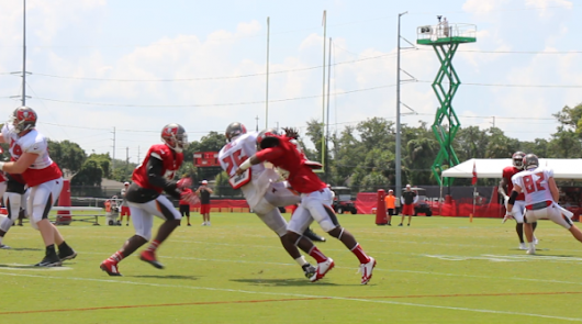 Video: Bucs Offense, Defense Thriving in Competition