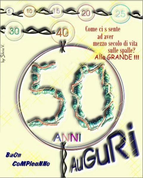 Biglietti Di Auguri Compleanno 50 Anni Powermall