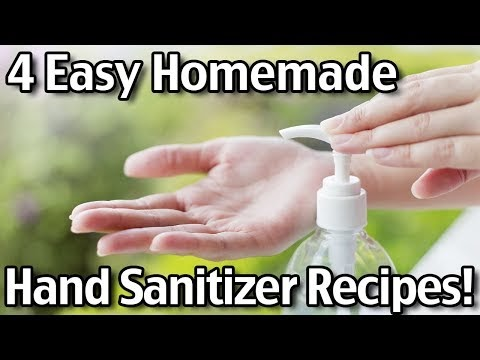 Four Easy Homemade Hand Sanitizer Recipes! Health and Beauty.online
