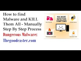 How to remove Thegoodcaster com redirect Virus Malware Removal Video