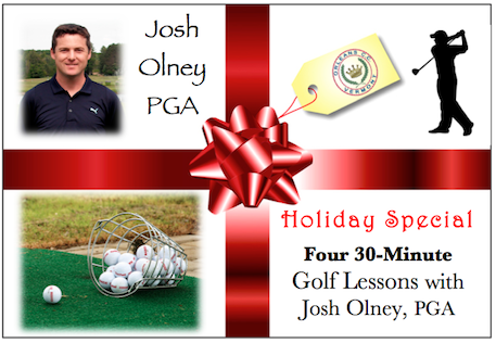 Great Gift Idea! Holiday Lessons Package - Orleans Country Club