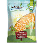Organic Super Sweet Corn (Freze-Dried Kernels, Non-GMO, Raw, Healthy Snack, bulk, Grown in The USA) by Food to Live 5 Pounds