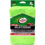 "5""x10"" XL Platinum Plush Microfiber Sponge Green - Turtle Wax"