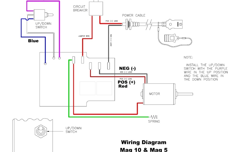 Depth Finder Wiring Diagram