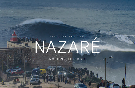 Rolling the Dice at Nazaré on the Swell of the Year