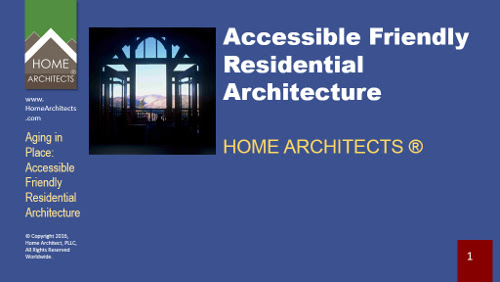 Aging in Place: Accessible Friendly Residential Architecture | Mountain Home Architects, Timber Frame Architect, Custom Homes