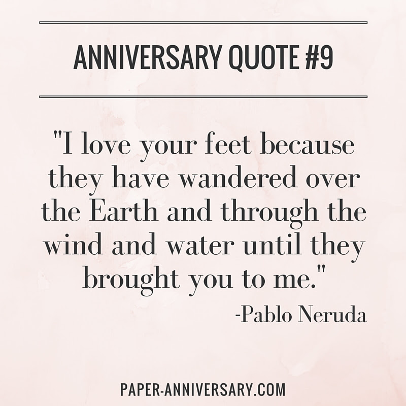 20 Anniversary Quotes For Her Sweep Her Off Her Feet Paper