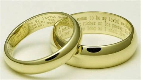 Cool Wedding Ring 2016: Wedding rings with writing