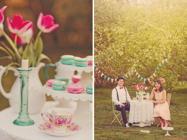 A Sweet + Whimsical Engagement Session | Green Wedding Shoes ...