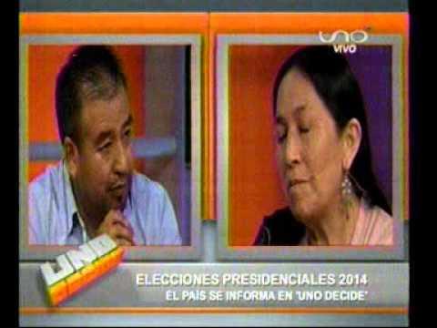 Tuto Quiroga y Tomasa Yarhui en Uno Decide (Parte 4)