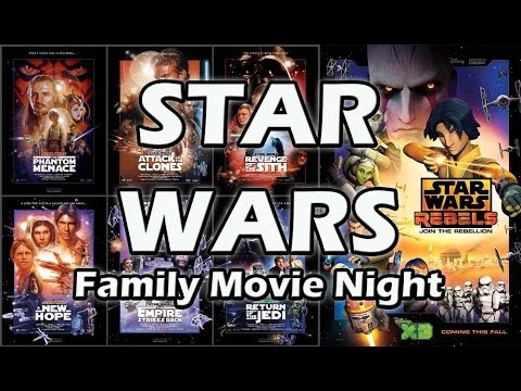 Family Movie Night: Star Wars!