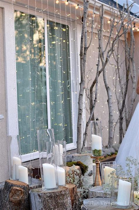 Earthy Outdoor Wedding Decor On A Budget And All Natural
