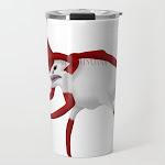 Subnautica Reaper Leviathan Travel Coffee Mug by Graphing Guru - 20 oz
