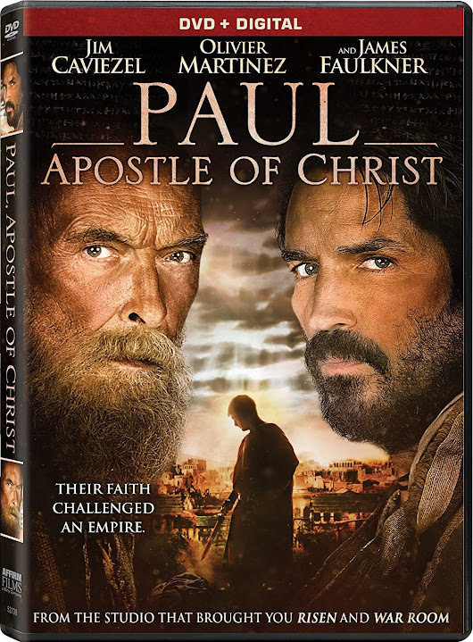PAUL, APOSTLE OF CHRIST on Blu-Ray,DVD & Digital and Giveaway | Finding Sanity in Our Crazy Life