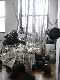 Party Theme - Black & Silver on Pinterest