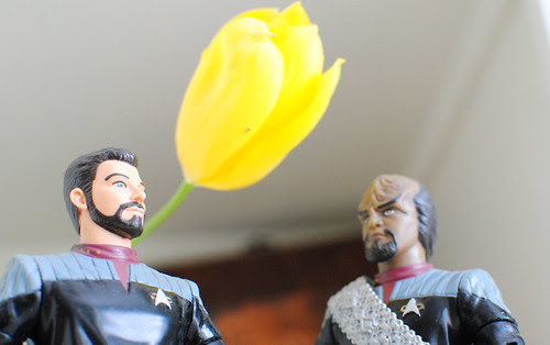 Riker and Worf
