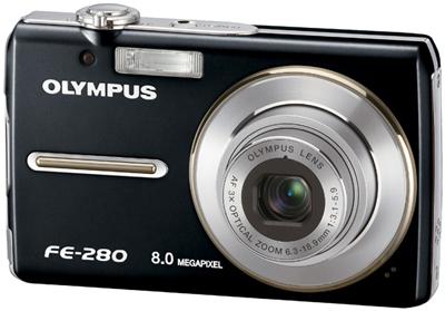 olympus fe-280 kamera