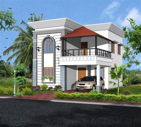 front elevation  small indian house   wallpaper