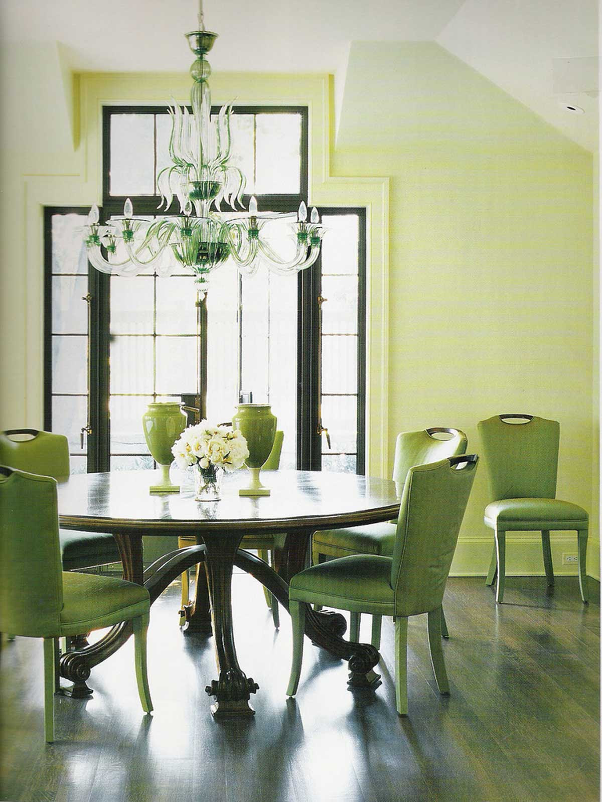 green dining room  Decoration Designs Guide