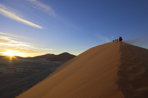 Sunrise at Dune 45