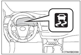 Downhill Assist Control System Indicator Light : 2016