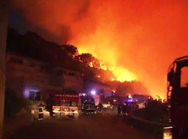 Sul da França tem evacuação após incêndios; cerca de 10 mil pessoas deixam região