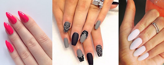 How to Pick Best Nail Shape for Fingers- 9 Different Nail Shapes Guide