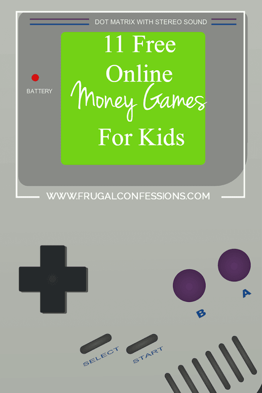 11 Free, Fun Money Games for Kids Online - Frugal Confessions