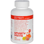 Smartypants Children'S All-In-One Multivitamin Plus Omega 3 Plus Vitamin D Gummies - 120 Pack -PACK 3