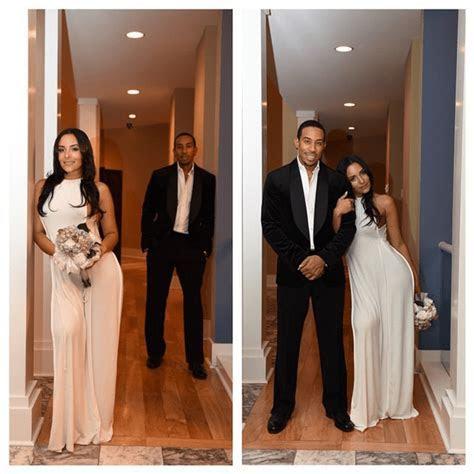 Ludacris Marries Longtime Girlfriend, Eudoxie Mbouguiengue