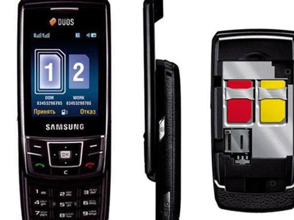 Uno dei modelli di telefono Samsung in causa, l'SGH-D880