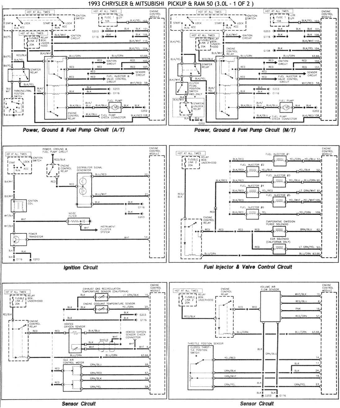 DIAGRAM 1996 Montero Fuse Box Diagram FULL Version HD ...