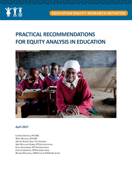 Practical Recommendations for Equity Analysis in Education