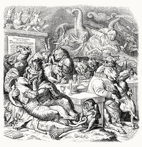 Wilhelm von Kaulbach - Reineke Fuchs, 1857 (Goethe) p30 (coconino)