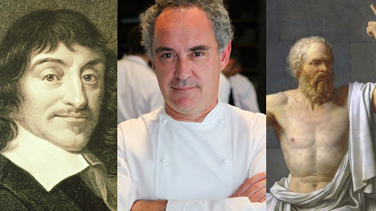 Who Said It: Socrates, Descartes, or Ferran Adrià?