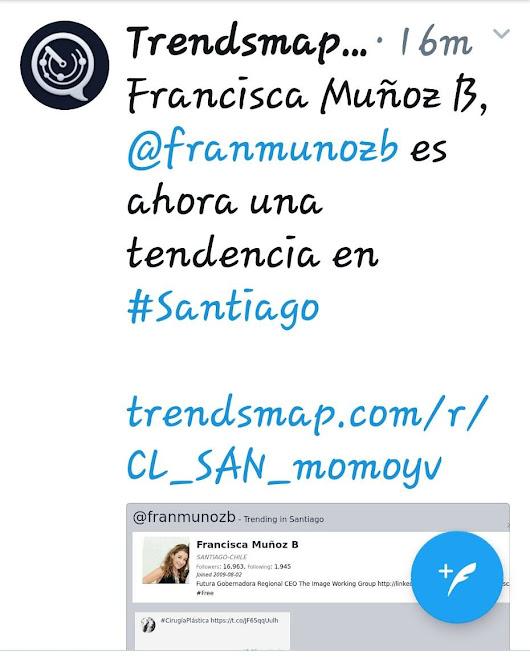 Resultado de imagen para francisca muñoz b the image chile